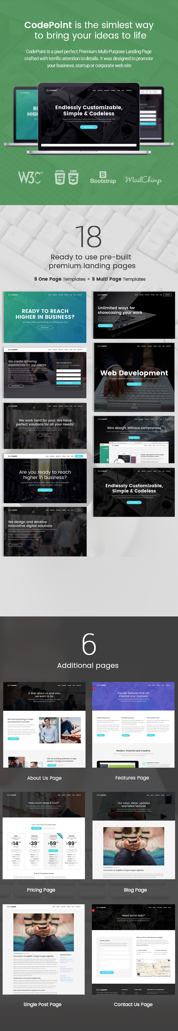 codepoint wordpress theme
