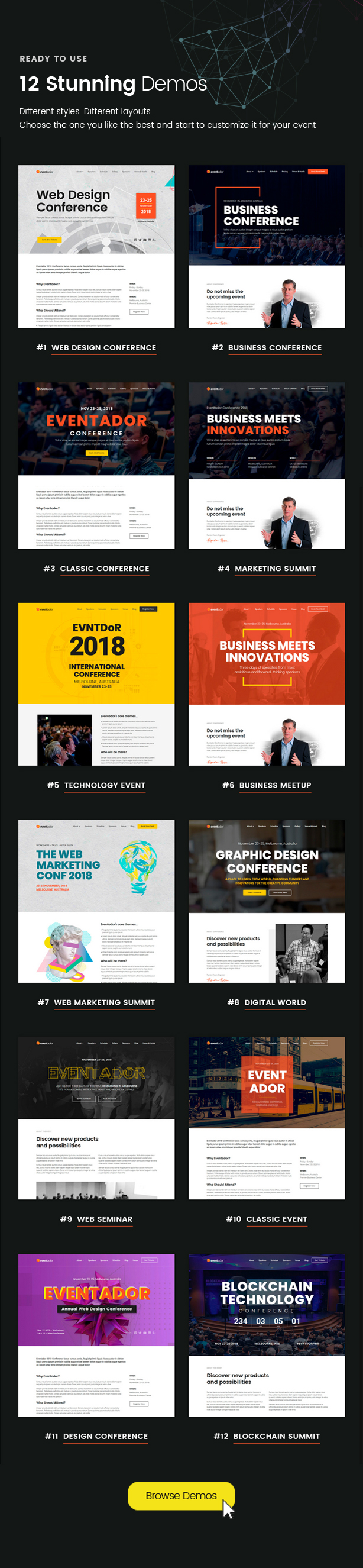 EventAdor Event Marketing WordPress Theme