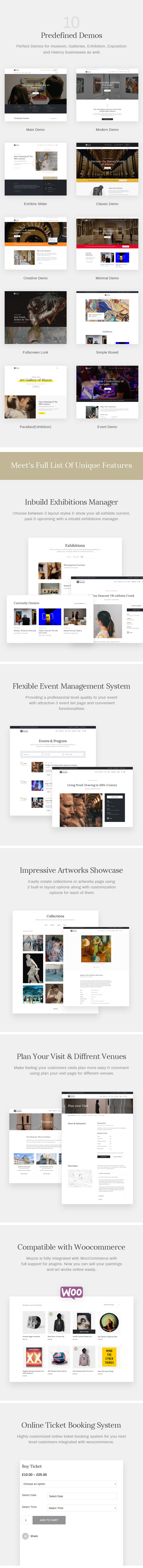 Muzze - Museum Art Gallery Exhibition WordPress Theme - 5