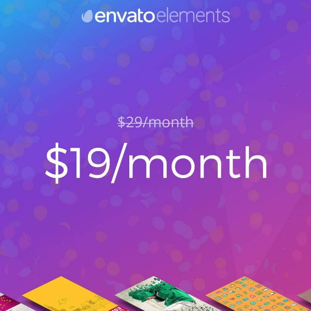 One day only  subscribe to Envato Elements for onlyhellip