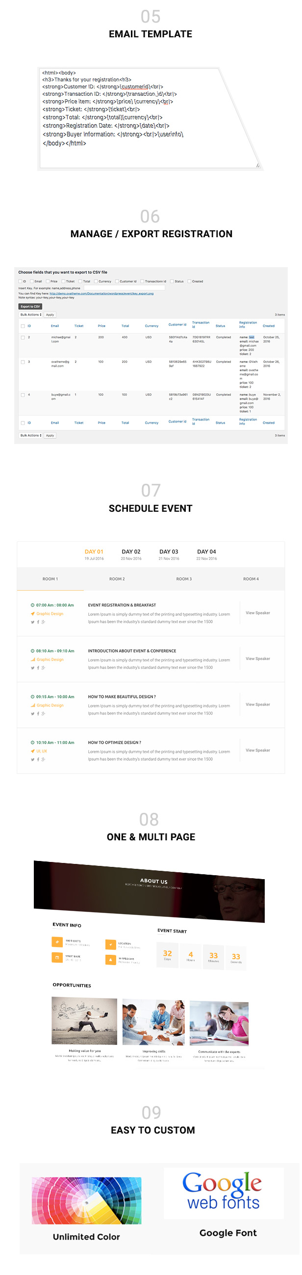 MitUp Event Conference WordPress Theme
