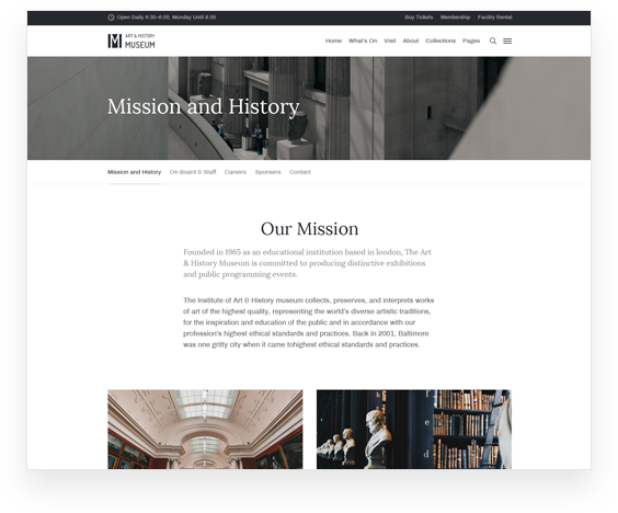 Mission & History