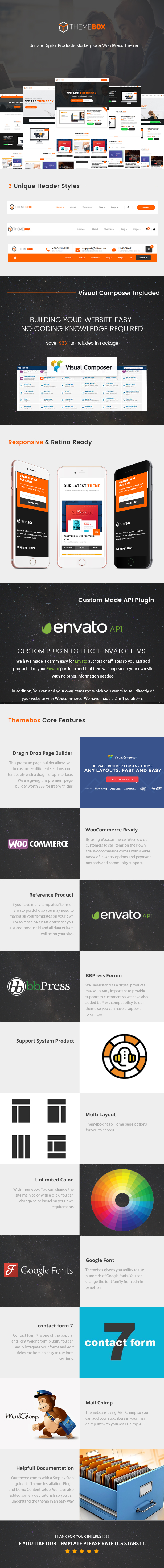 Themebox - Unique Digital Products Ecommerce WordPress Theme - 1