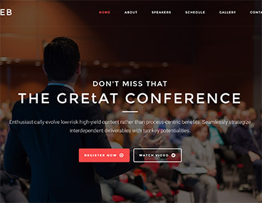 Aleb – Event & Conference Onepage WordPress Theme